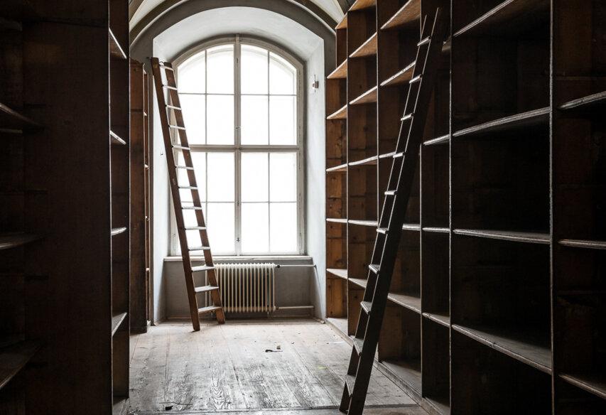 Vom Hofkammerarchiv zum Literaturmuseum: Das Vorher>