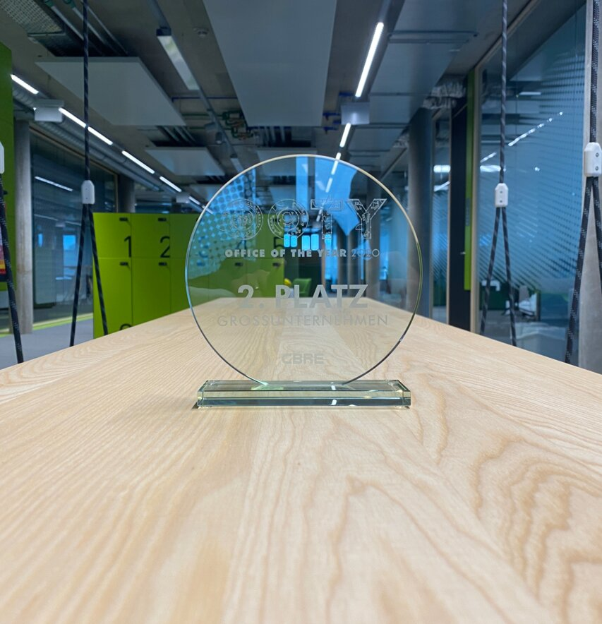 2er Platz beim Office of the Year Award - OOTY!