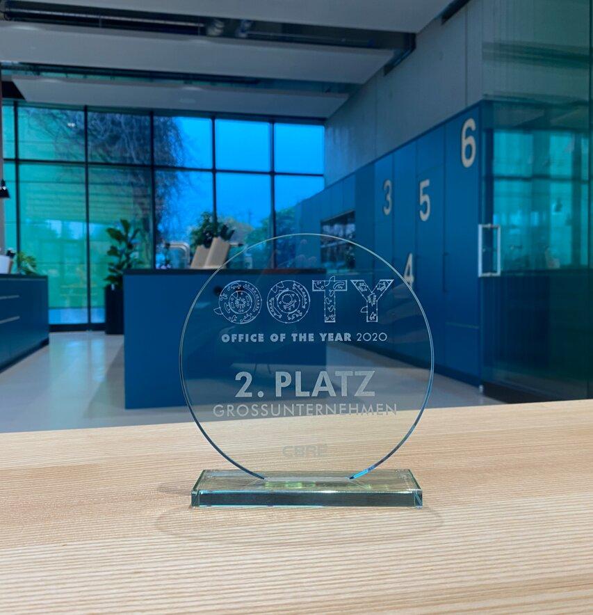 2er Platz beim Office of the Year Award - OOTY!